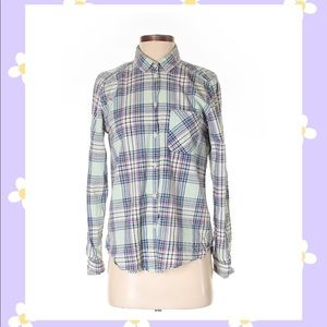 American Eagle Outfitters Long  Sleeve Button-Down